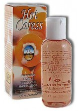 Hot Caress Raspberry massage oil 120ml
